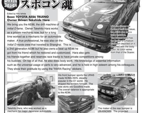 Draft Japan: Spocon Damashii