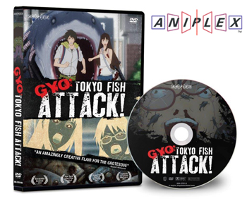 Release Horror Animation Film GYO:Tokyo Fish Attack! on DVD