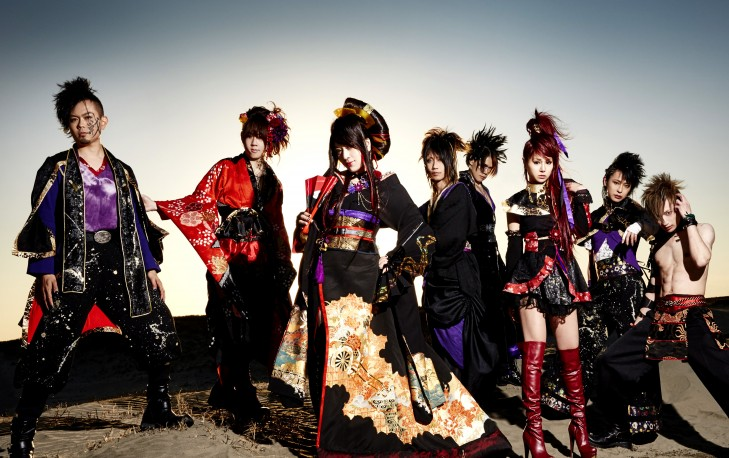 "Wagakkiband and IA will appear on ""Anime Expo 2015"" in Los angeles!"