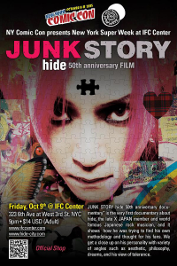 Movie Screening of JUNK STORY - hide 50th Anniversary Documentary